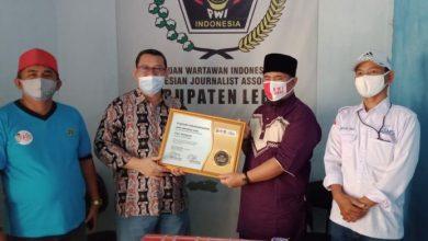 Dian Wahyudi Raih HPN Award 2021, Kategori Narasumber Aktif Pers