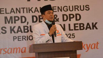 PKS Lebak Siap Jadi Garda Terdepan Pembangunan Lebak