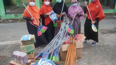 Pemberian Bantuan untuk Korban Banjir Kreo Selatan oleh BPKK DPC PKS Tangerang
