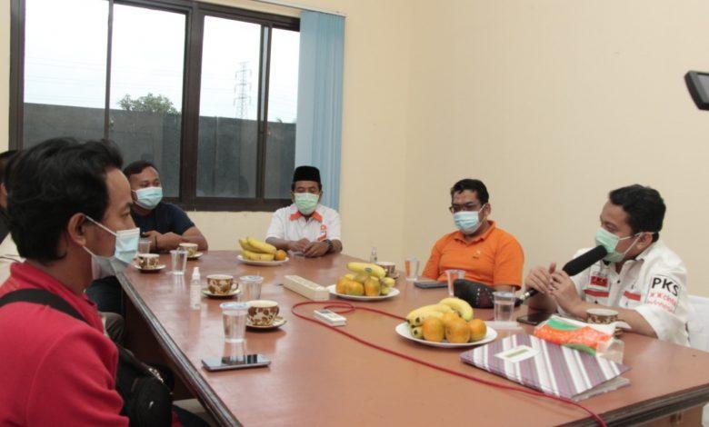 Polresta Sambangi Kantor DPD PKS Kab Tang