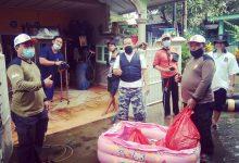Sinergi Warga Nambo Jaya dan PKS Bangun Posko Banjir di Nambo Jaya