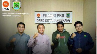 Fraksi PKS Kota Tangerang Siap Jembatani Aspirasi Mahasiswa