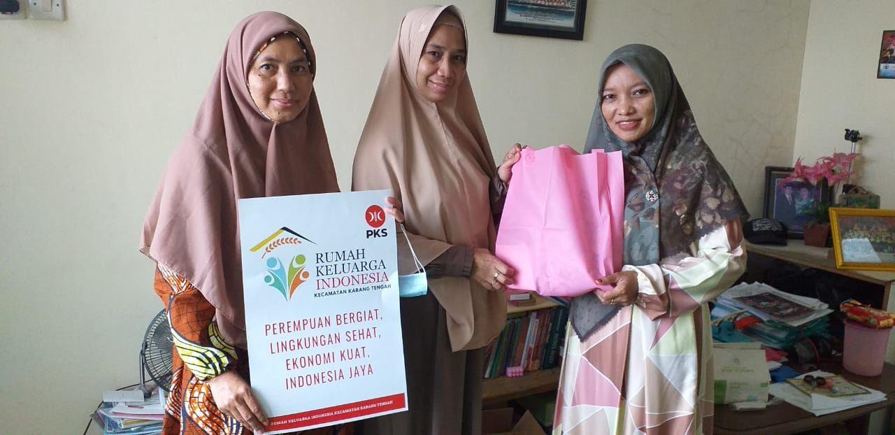 Tokoh Masyarakat Apresiasi Silaturahim Kunjungan Pengurus Baru RKI Kecamatan Karang Tengah