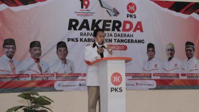 Sekretaris DPD PKS Kabupaten Tangerang, Ahmad Syahril