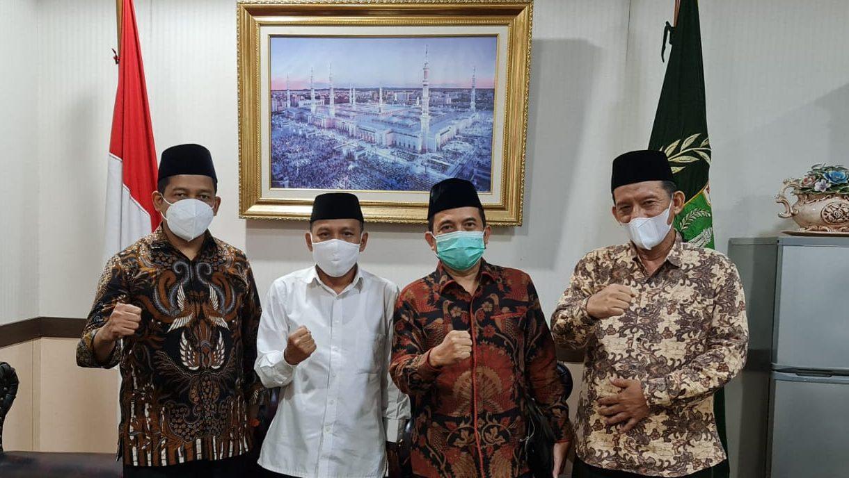 Pengurus NU Banten Kunjungi DPRD